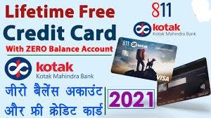 Kotak zero balance account opening online - kotak 811 credit card Online Apply